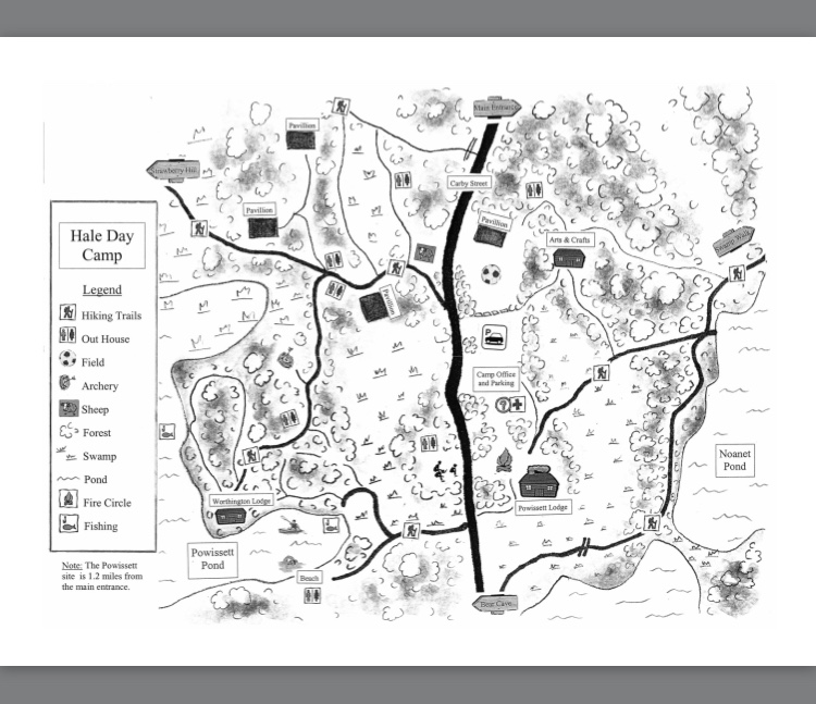 Hale Day Camp Map