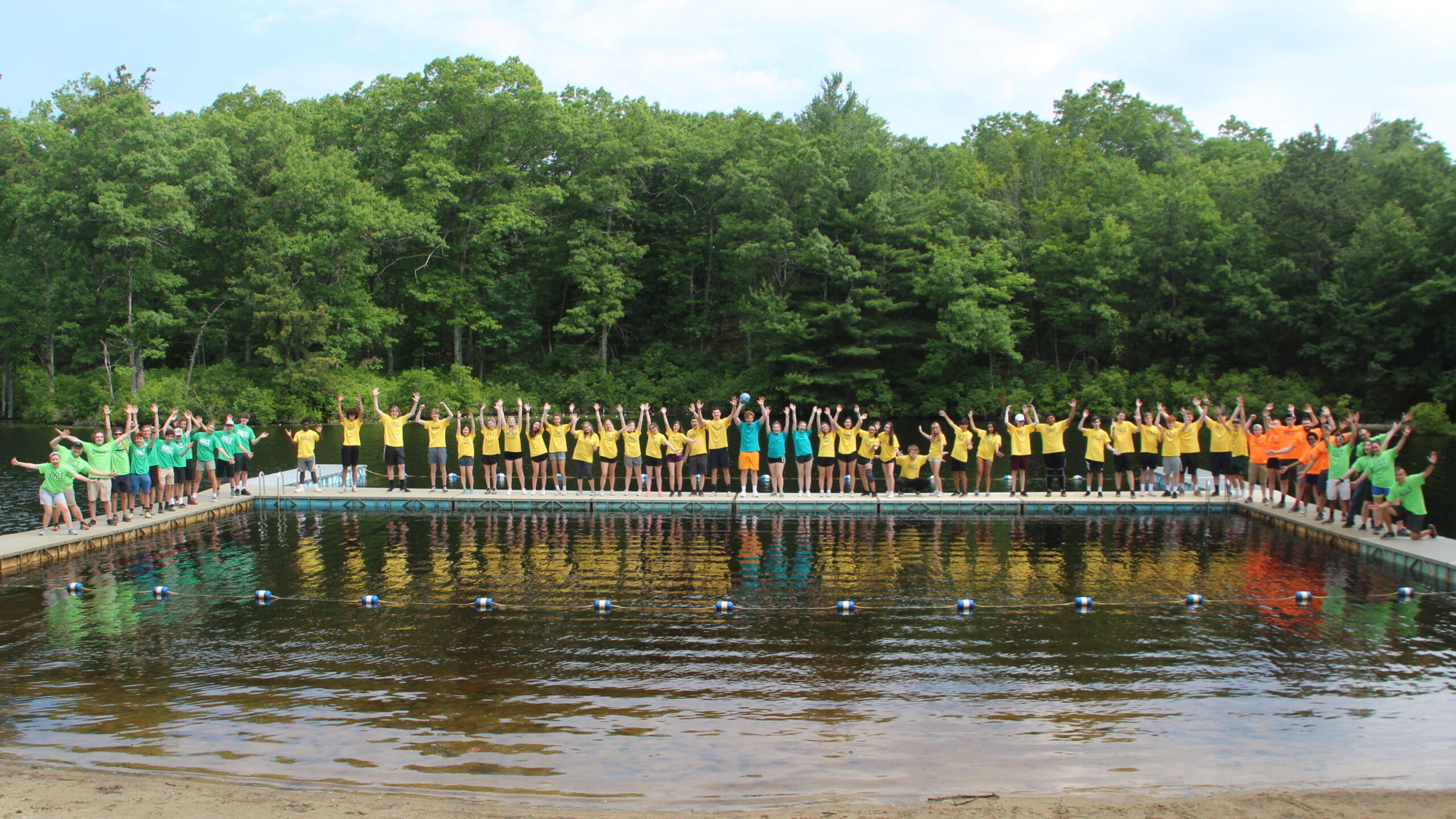 Welcome to camp at Hale! Enjoy your summer!